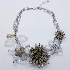 Gorgeous Loft Crystal Statement Necklace